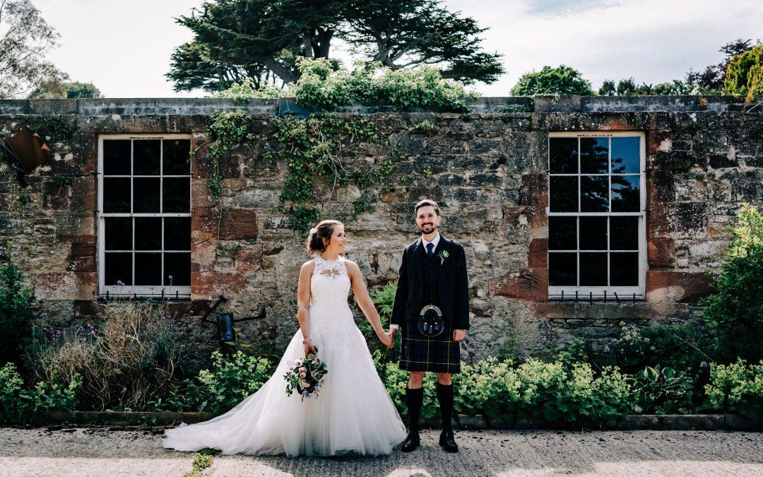 broxmouth park wedding story. catriona & richard